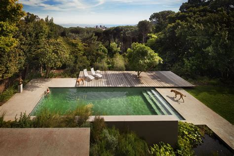 moderne häuser mit pool awesome country views backyard garden ideas added small