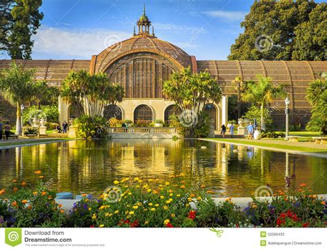 Botanical Gardens San Diego Balboa Park Balboa Park San Diego Botanical Building Editorial Stock Photo Image 52566433