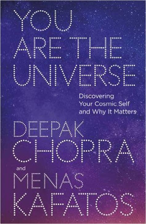 Deepak Chopra Detox Review by You Are The Universe By Deepak Chopra Book Review Buy