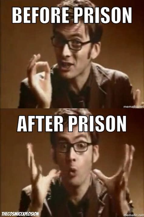 10th Doctor Meme - tenth doctor prison meme by thecosmicexplosion on deviantart