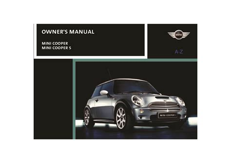 auto manual repair 2004 mini cooper on board diagnostic system 2004 mini cooper owner s manual car maintenance tips