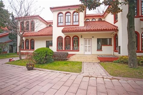 rent a house in shanghai at green valley villa sh017157