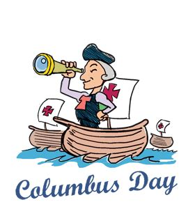 columbus day calendar history events quotes when is