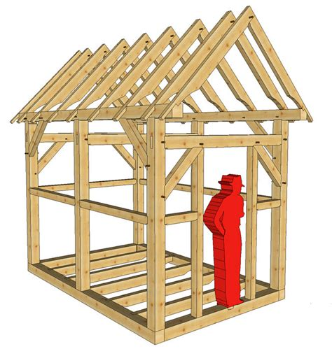 timber frame    playhouseshed plans