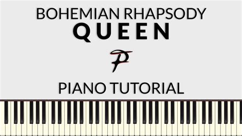 tutorial piano queen queen bohemian rhapsody piano tutorial francesco