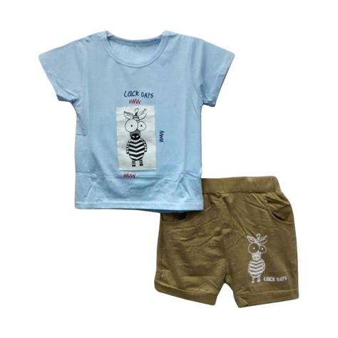 Baju Anak Laki Laki Import Setelan Overal Baju Kodok L jual import 17003 setelan baju bayi laki laki blue harga kualitas terjamin