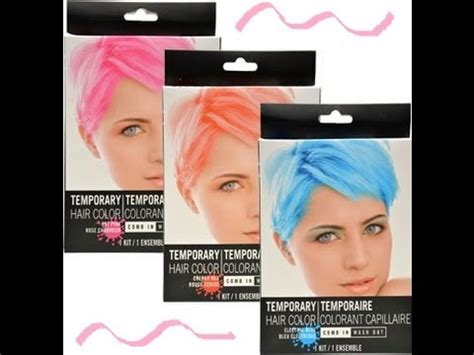 comb in wash out hair color dollar tree temporary hair dye