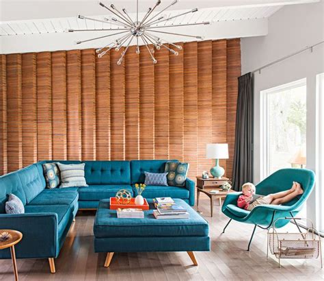 decorating with blue midwest kenilworth design 1000 images about mid century modern home on pinterest