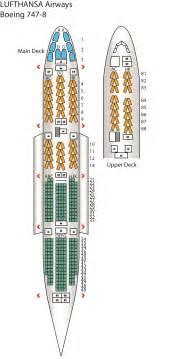 787 Floor Plan B747 8 Config 1 Lufthansa Seat Maps Reviews