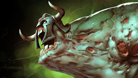 dota 2 green wallpaper undying dota 2 wallpaper 1151583