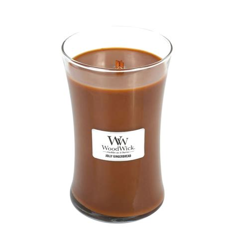 woodwork candles jolly gingerbread woodwick candle 22 oz