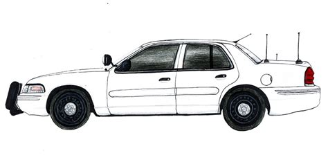 crown victoria coloring page ford crown victoria 1998 police interceptor by