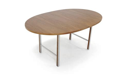 paul mccobb expandable dining table walnut and