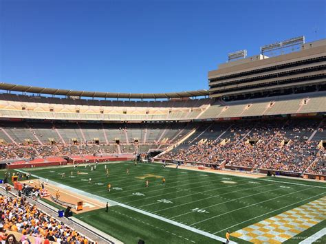 neyland stadium visitors section neyland stadium section q rateyourseats com