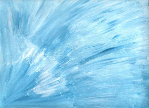 blue and white painting blue white abstract art 9x12 original acrylic painting