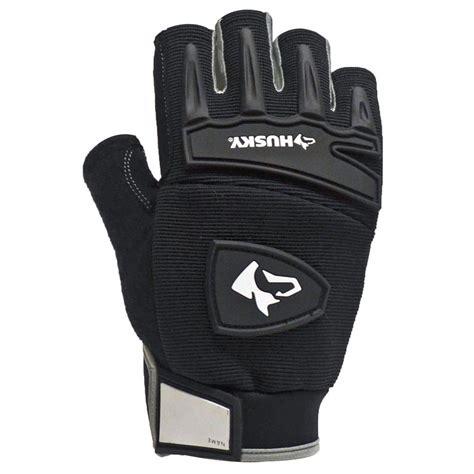 husky medium fingerless mechanics glove 67122 16 the