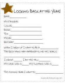 new year activities printable new year s family activity simple time capsule