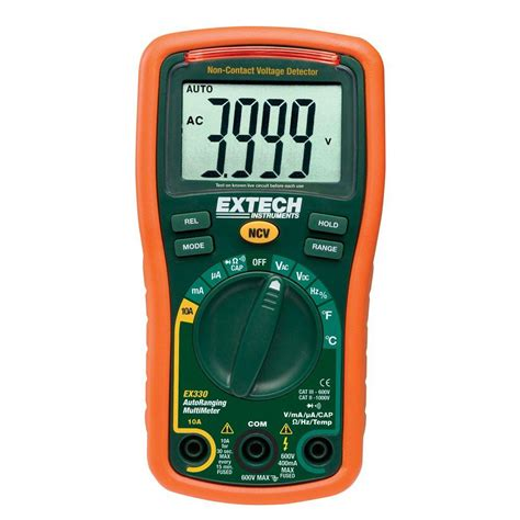 Multimeter Manual klein tools manual ranging multimeter mm100 the home depot