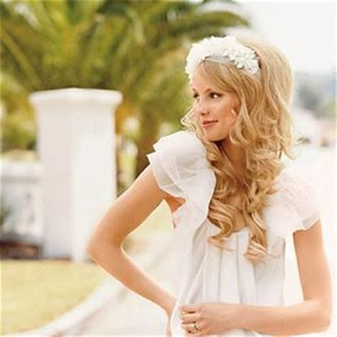 cute country hairstyles cute wedding hairstyle wavy wedding hair 797968 weddbook