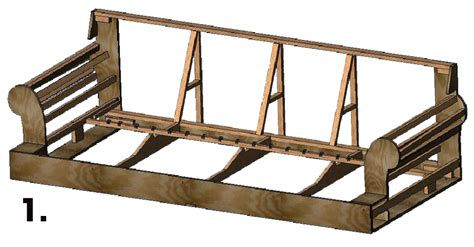 wood sofa frame construction pictures to pin on