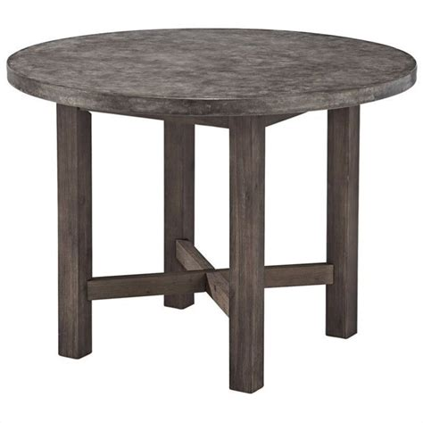 Gray Table by Dining Table In Brown And Gray 5134 30