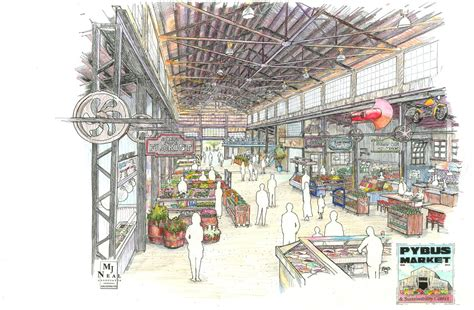 design concept for public market south yorkshire shopfitting 0114 457 7768 commercial