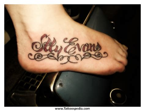 tattoo lettering on foot tattoo lettering on foot 1
