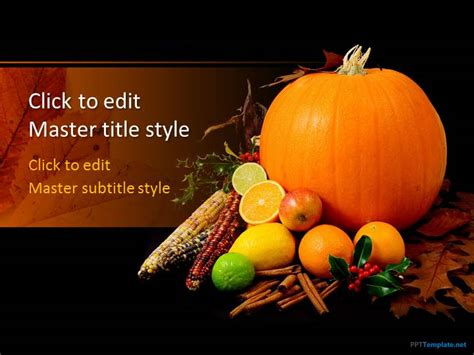 free thanksgiving powerpoint templates free powerpoint templates ppt slide designs
