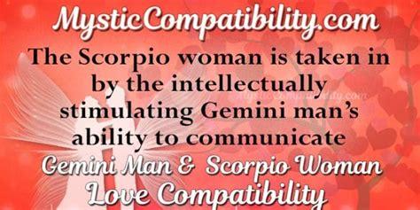 how to communicate with a gemini gemini scorpio compatibility mystic compatibility