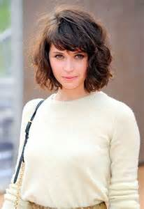 20 curly hairstyles with bangs hairstyles