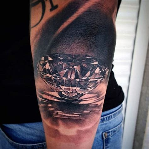 diamond tattoos for men 70 designs for precious ink