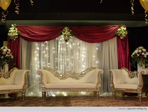 Wedding Stage Decoration Ideas   Romantic Decoration