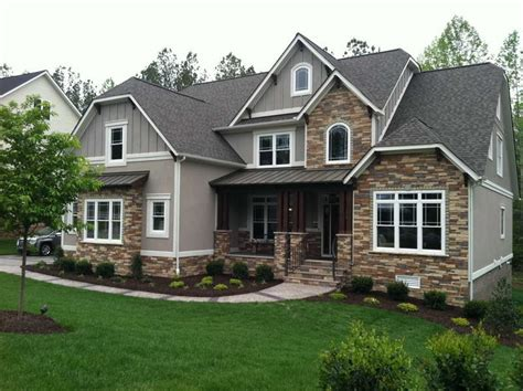 Craftsman Style House by Home Design Craftsman Style House Plans With Gray Walls
