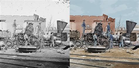 the war was in color blood and glory the civil war in color 7 before and