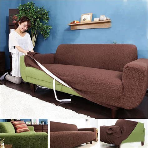 Stretch And Cover Slipcovers Autumn Winter Thickening Elastic Slipcover Three Seat Sofa