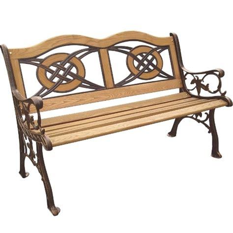 park bench wood parkland heritage kokomo wood inlay patio park bench