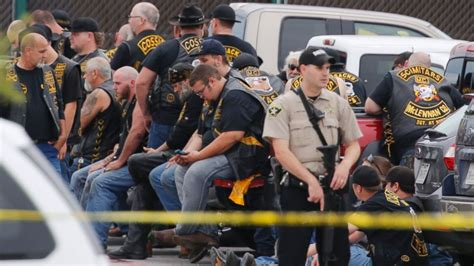 9 dead in waco texas biker gang shooting cops say abc
