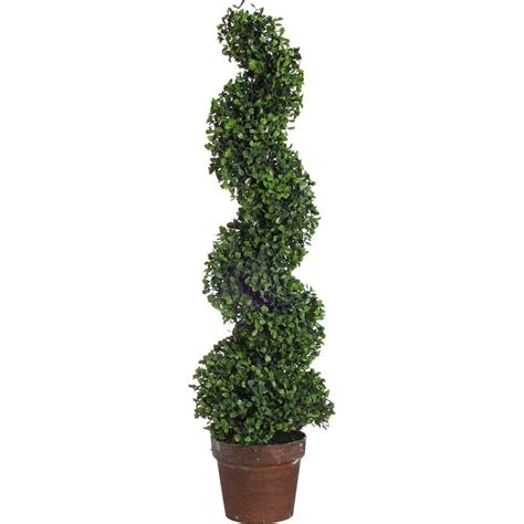 decorative trees nearly natural 44 in ficus tree with decorative planter