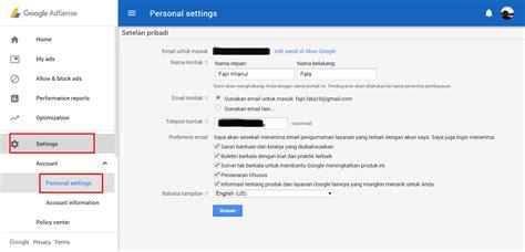 adsense masuk diterima google adsense segera lakukan 4 hal ini