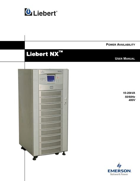 liebert npower ups wiring diagram liebert npower