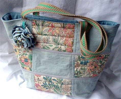 Denim Patchwork Bag Patterns Free - 17 best ideas about tote bags handmade on