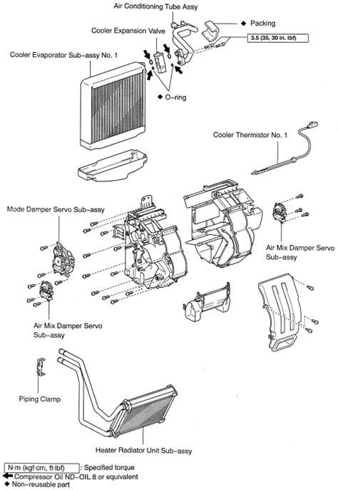 repair guides heater core removal installation