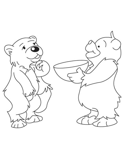 coloring page bear cub bear cub coloring pages pictures to pin on pinterest