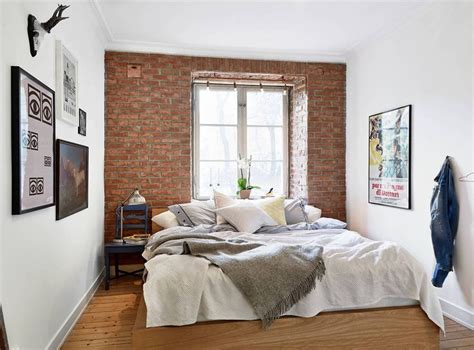 brick bedroom 1000 ideas about brick wall bedroom on pinterest