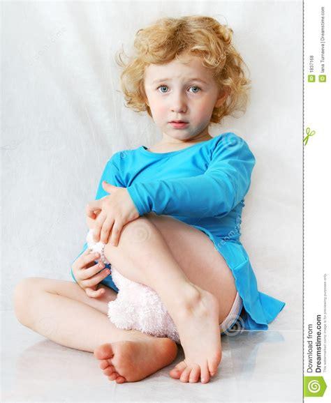 small tiny sad curly royalty free stock photos image 1837168