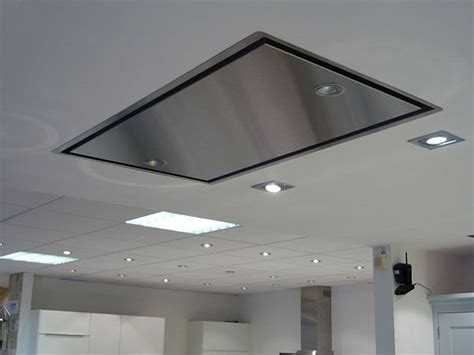 flush mount kitchen exhaust fan abk neerim ceiling mounted extractor hood the neerim can