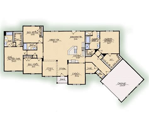 dual master bedroom floor plans beverly ii c dual master suite texas schumacher homes