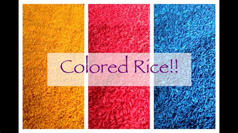 for colored play toddler play colored rice