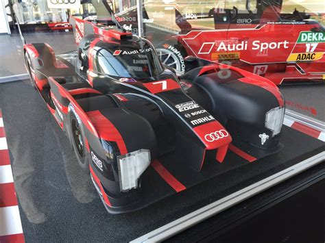 @RacingLines What could have been model of 2017 Audi LMP1 seen during visit to @audisport today