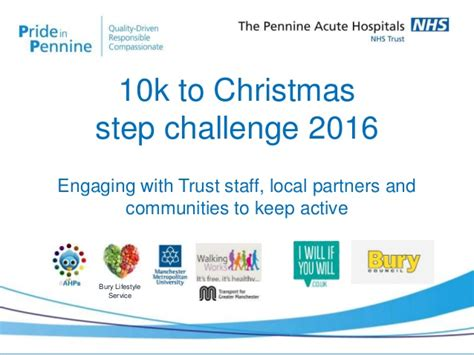 Nhs To 10k by 10k To Step Challenge 2016 Pennine Acute